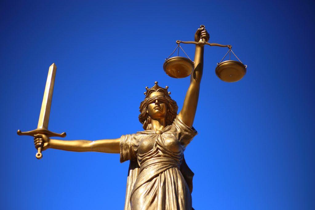 wraking- problemen met justitie